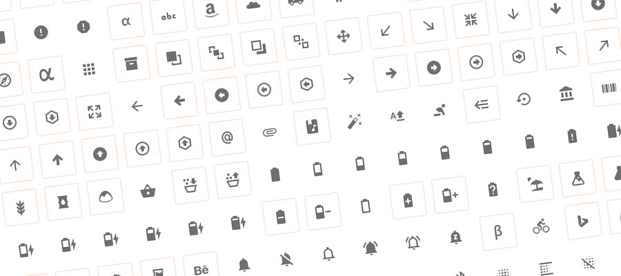 Material Design Icons Plugin